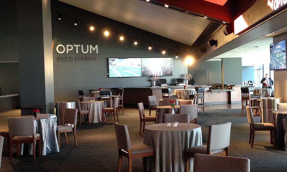 Optum Field Lounge Gillette Stadium