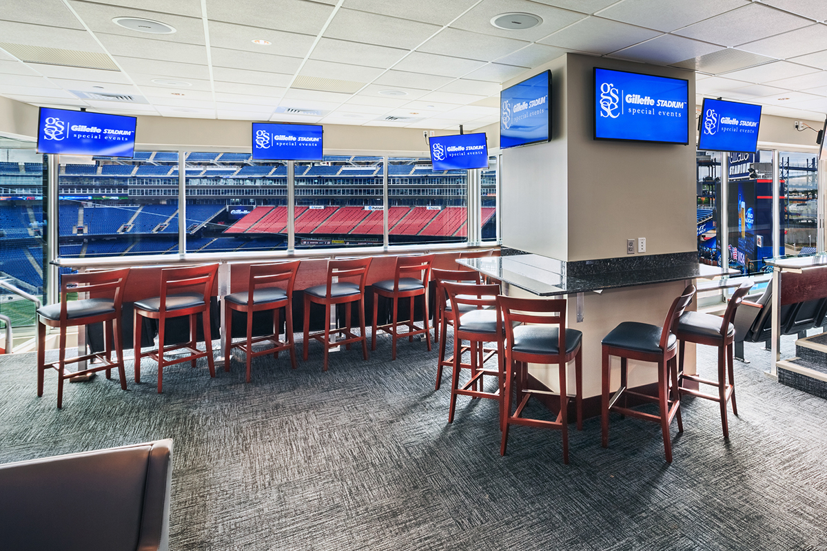 Gillette Stadium Hotel Room