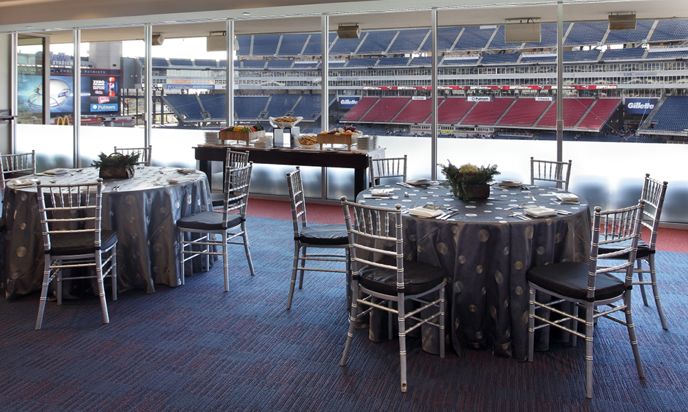 Putnam Club Lounge Gillette Stadium