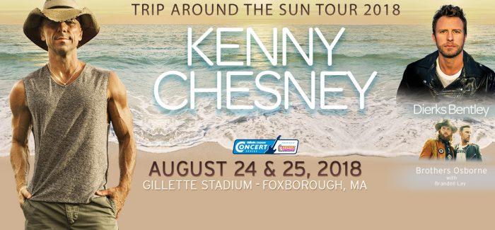 Kenny Chesney Trip Around The Sun Tour