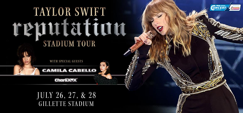 Taylor Swift S Reputation Stadium Tour Gillette Stadium