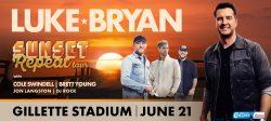 "Luke Bryan ""Sunset Repeat Tour"" @ Gillette Stadium"