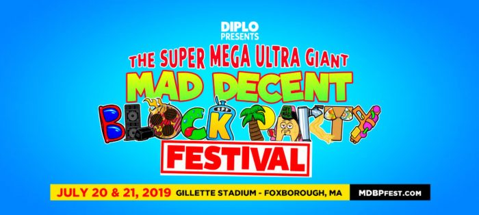 f837697f8244 Diplo Presents The Super Mega Ultra Giant Mad Decent Block Party Festival. July  20 2019. Find Tickets