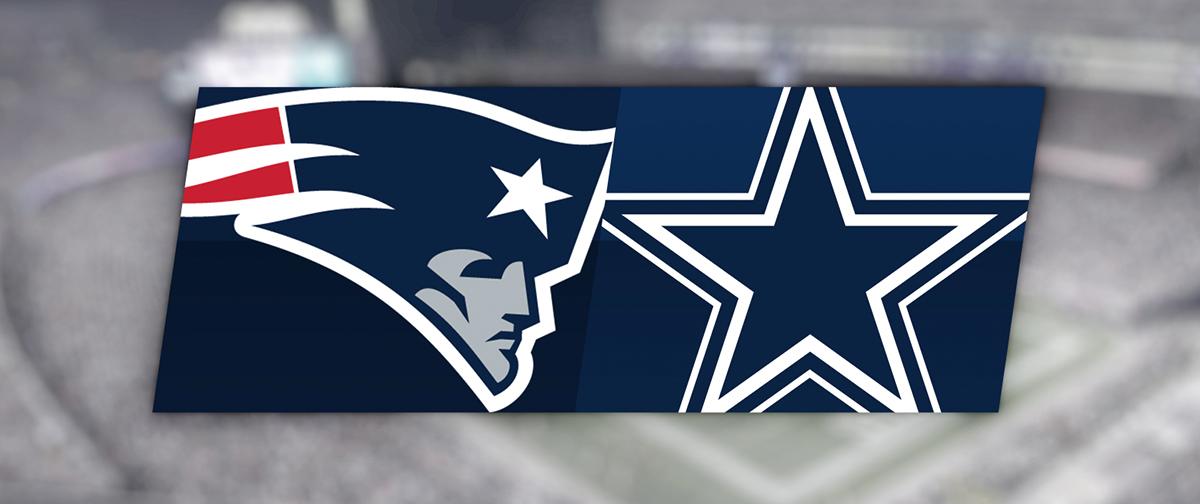 New England Patriots Vs Dallas Cowboys Gillette Stadium