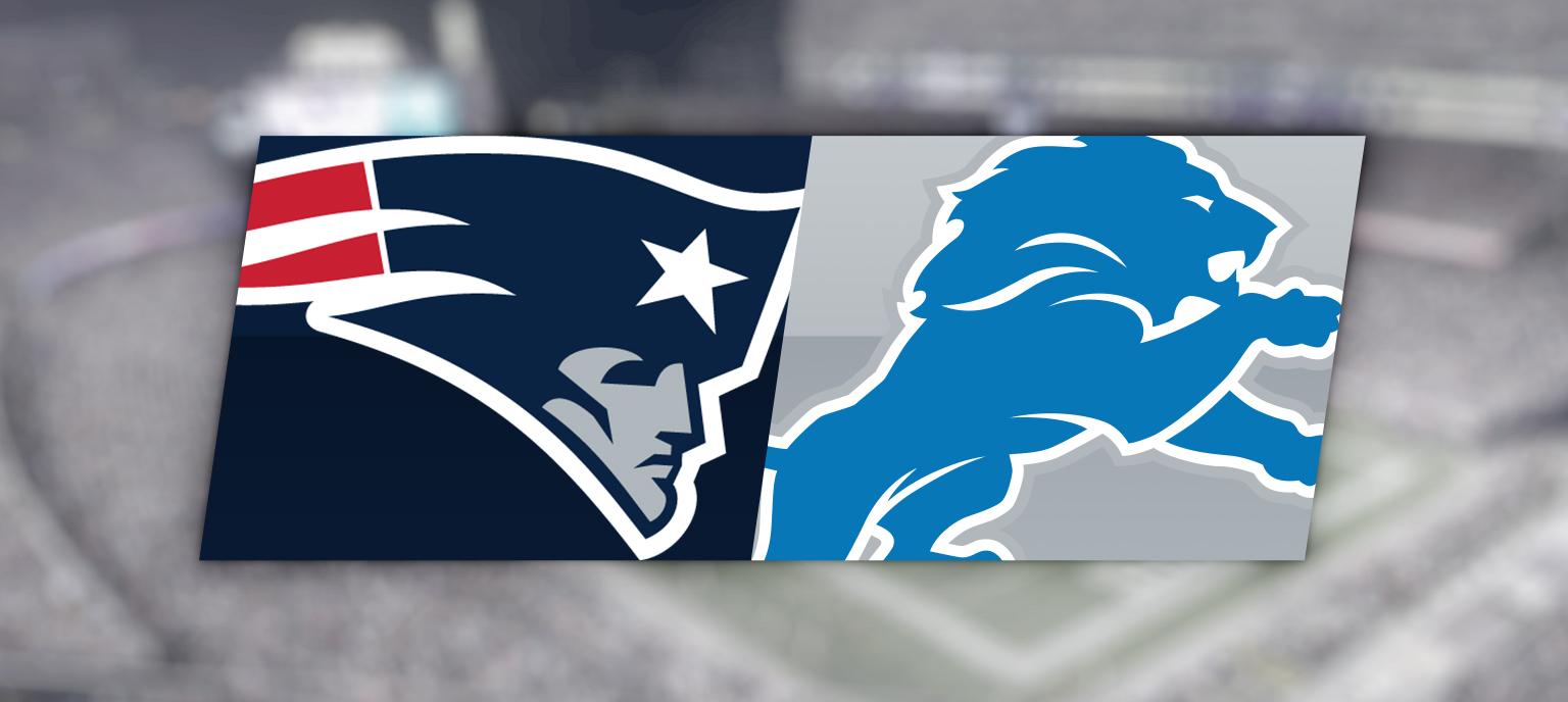 Preseason: New England Patriots Vs. Detroit Lions @ Gillette Stadium