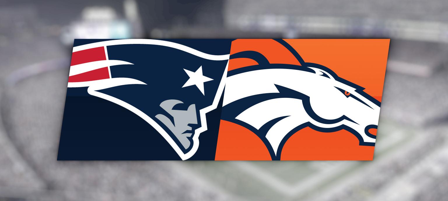 New England Patriots vs. Denver Broncos @ Gillette Stadium