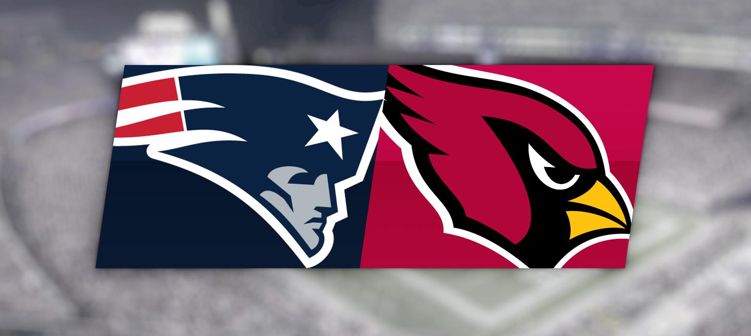 New England Patriots vs. Arizona Cardinals @ Gillette Stadium