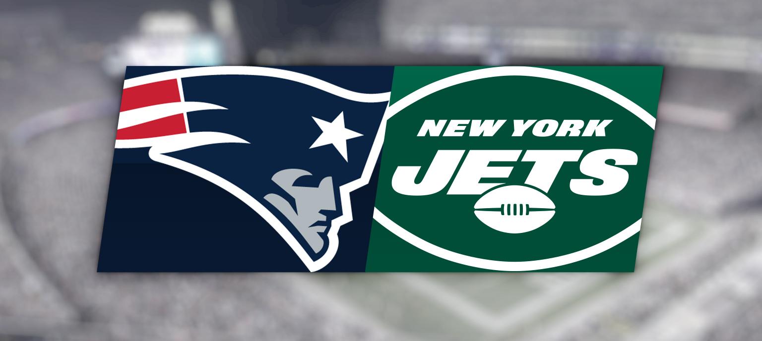 New England Patriots vs. New York Jets @ Gillette Stadium