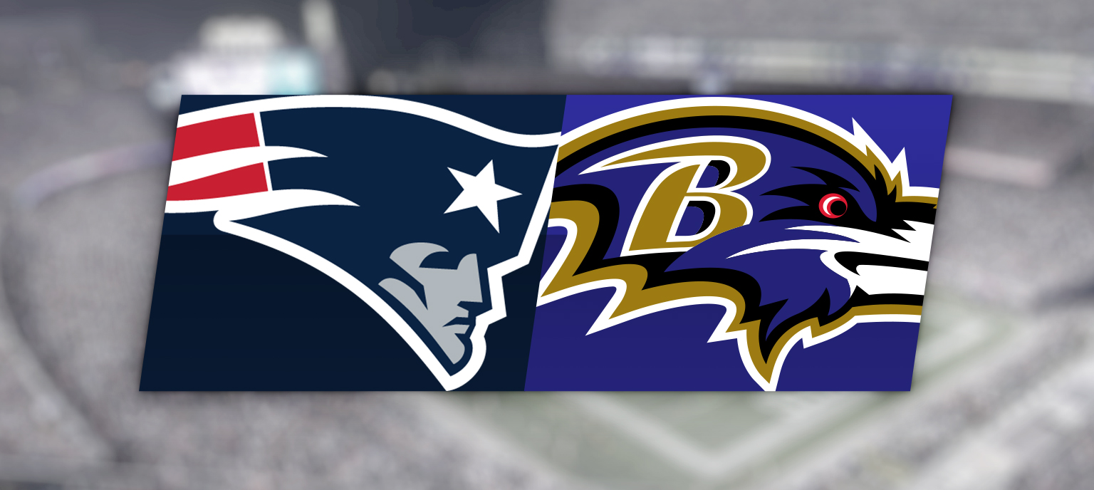 New England Patriots vs. Baltimore Ravens @ Gillette Stadium
