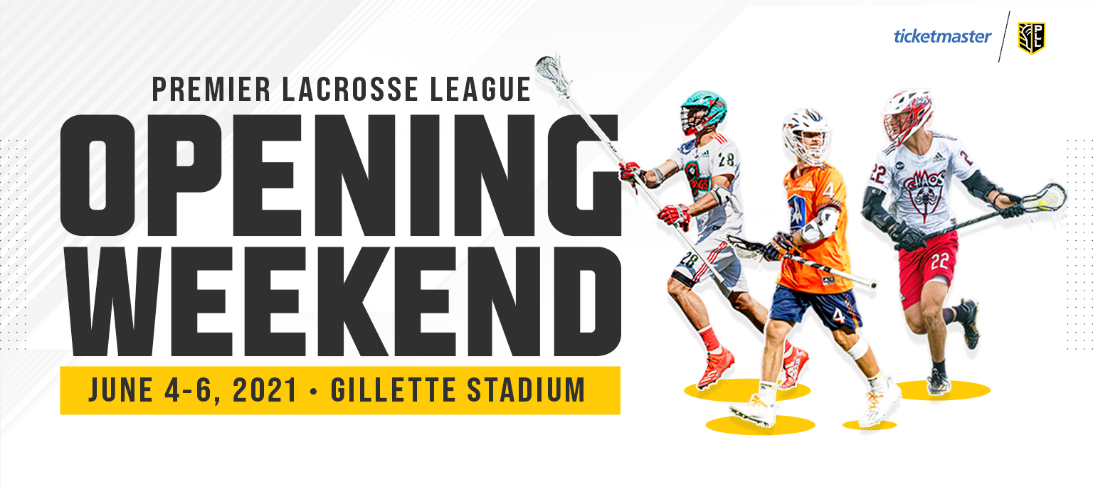 Premier Lacrosse League Opening Weekend @ Gillette Stadium